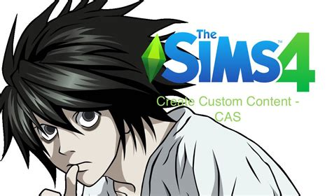 the sims 4 custom content create a sim l death note youtube