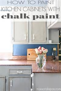 How Do You Paint Kitchen Cabinets by How To Paint A Kitchen With Chalk Paint Maison De Pax
