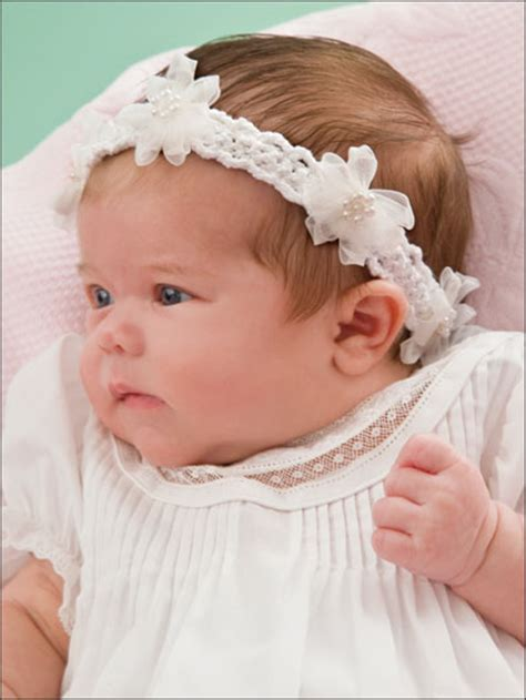 pattern for infant headbands adorable crochet headbands free patterns at this website