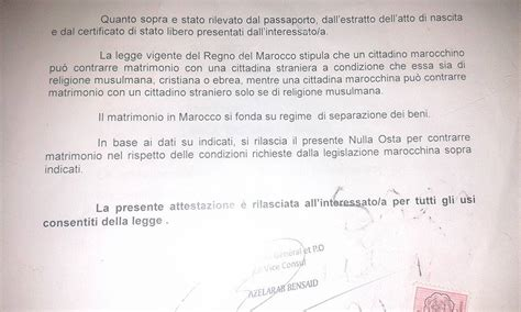 consolato tunisia roma celebrare il matrimonio misto studio legale cembalo