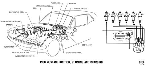 Wrg 8370 1968 Ford Mustang Ignition Wiring Diagram