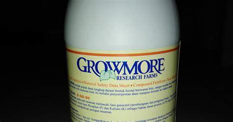 Pupuk Growmore Buah pupuk growmore 6 30 30 ayo berkebun