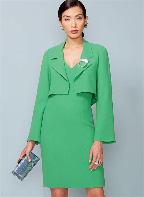 Dress Vogue vogue patterns 1536 misses misses cropped jacket