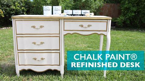 renovar muebles chalk paint chalk paint 174 refinished desk c 243 mo renovar un escritorio