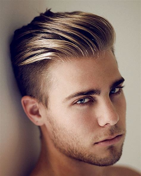 hairstyles long on top and short back and sides long on top short on sides hairstyles for men hairstyle