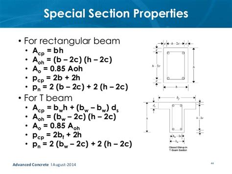 section properties t beam section properties 28 images eurocode 2 exles