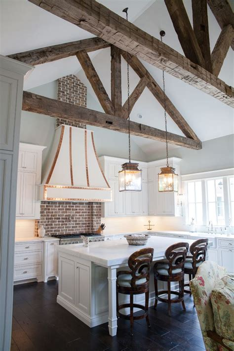 vaulted ceiling with exposed beams expose your rusticity with exposed beams