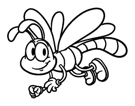 Dragonfly Coloring Book Pages by Happy Dragonfly Coloring Page Coloringcrew