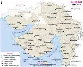 cities in map cities in gujarat gujarat cities map