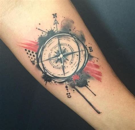 50 Impressive Compass Tattoos Designs and Ideas (2018)   TattoosBoyGirl