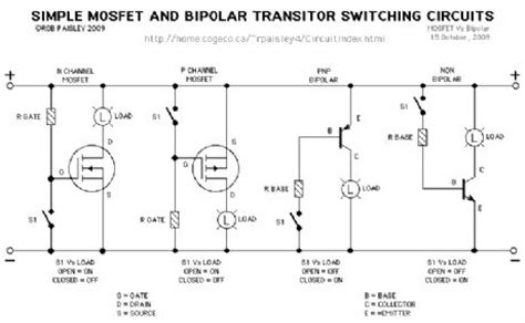 design and application guide for high speed mosfet basic transistor switches control circuit circuit