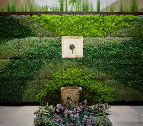Bright Green Vertical Garden Living Walls Bright Green And Vertical Planting On