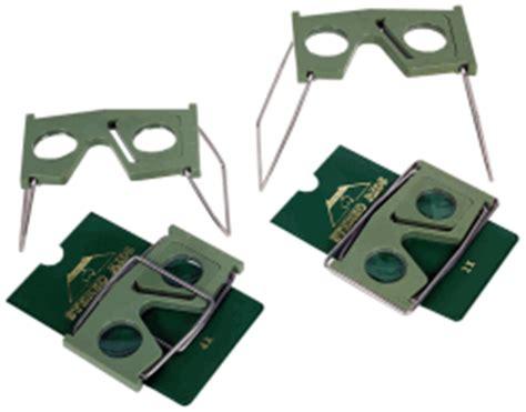 Pocket Stereoscope 4x 2x and 4x pocket stereoscopes
