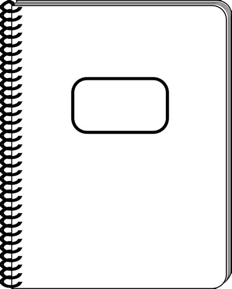 Computer Bookcase Free Vector Graphic Spiral Book Note Pad White Pages