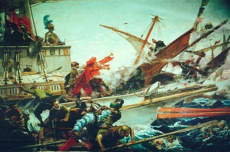 la daga de la la batalla de lepanto pintura wikipedia la enciclopedia libre