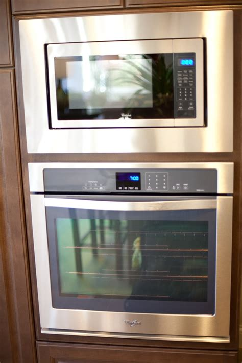Oven Golden whirlpool gold series stainless steel finish microwave