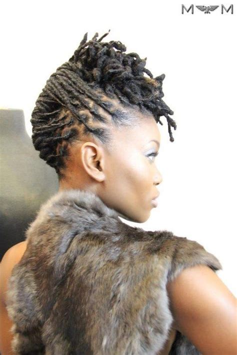 upswept natural hairstyles 68 best images about styles for short locs on pinterest