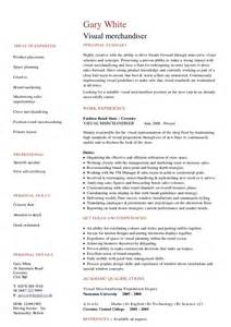 Free Sle Resume For Visual Merchandiser 28 Merchandiser Duties Resume Merchandiser Resume Resume Badak Professional Visual