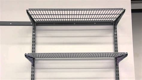 Garage Shelving Fixed To Wall Home Garage Organization Storability 1795 3 Shelf
