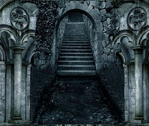 dark gothic staircase designs premade background 357 by ashensorrow on deviantart