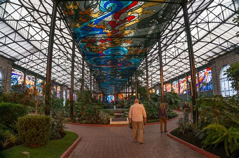 imagenes de jardines botanicos en mexico file another view of the magnificent stained glass inside