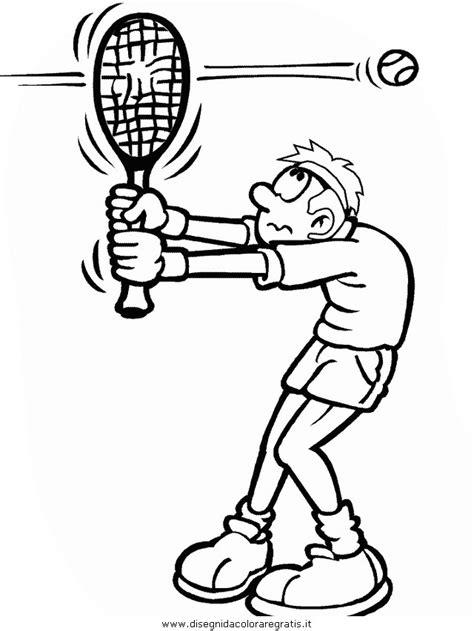 imagenes para colorear tenis disegno tennis categoria sport da colorare