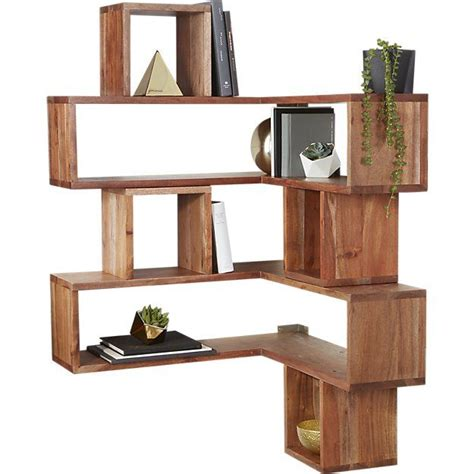 Corner Wall Shelf Wood by 1000 Ideas About Wall Mounted Corner Shelves On