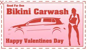Auto Car Wash Coupons Car Wash Coupon For Valentine S Day Gift