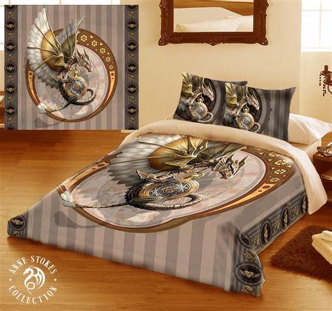 punk bedding steunk dragon bedding set pillow cases and quilt dragon home decor pinterest