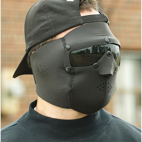 swiss eye style neoprene mask with goggles