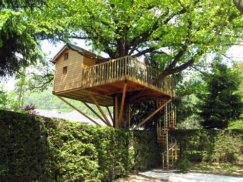 Beau Cabane De Jardin En Kit #1: Cabane-en-bois-perch%C3%A9e.jpg