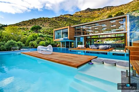 Cape Floor Plans by Spa House Luxury Residence Hout Bay Cape Town South