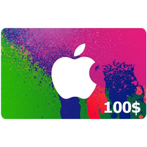 Apple Gift Card To Buy Itunes - apple itunes gift card usd 100 buy on dubai
