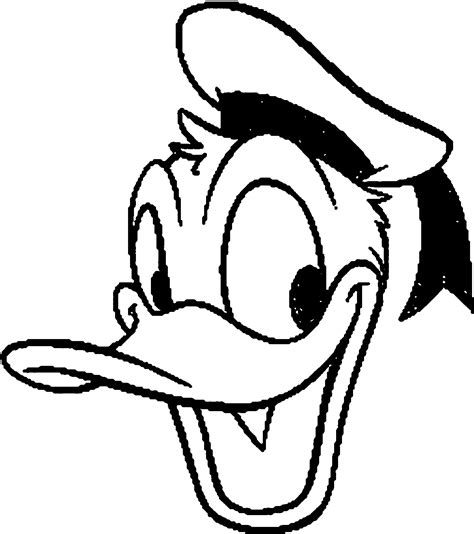 duck face coloring page donald duck face coloring pages coloring home