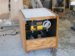 dewalt planer roll a cabinet for small shop
