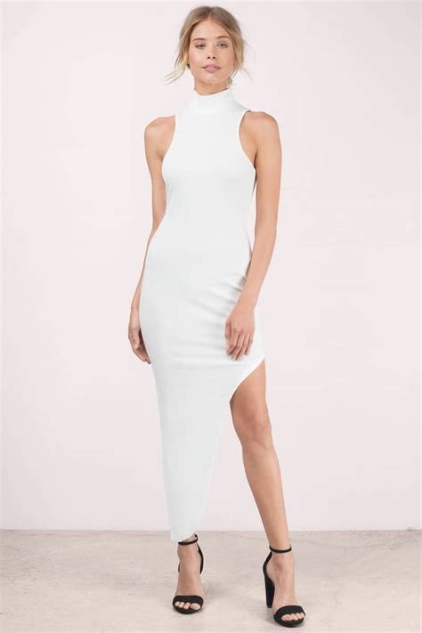 Promo Dress Eunby Turtleneck Lace Cocktail Dresses Attire For Black White