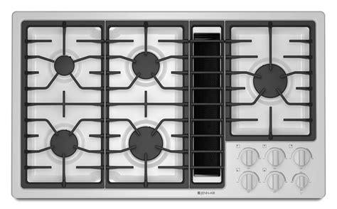 36 Inch Gas Cooktops With Downdraft 36 quot gas downdraft cooktop