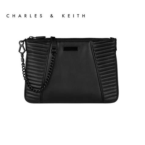 Others 100 Original Charles Keith Chain Bag designer clutch brand clutch charles and keith bags envelope clutch casual bag