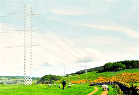 pylon design competition national grid pylon of the future 6 designs for an advanced electrical