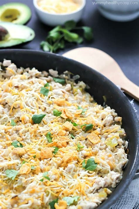 one pot turkey skillet recipe yummy healthy easy