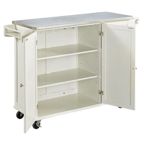 dolly madison kitchen island cart liberty wood top mobile kitchen cart w wood or stainless