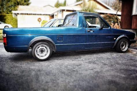 volkswagen truck slammed slammed vw caddy mk1 rabbit truck cool pics