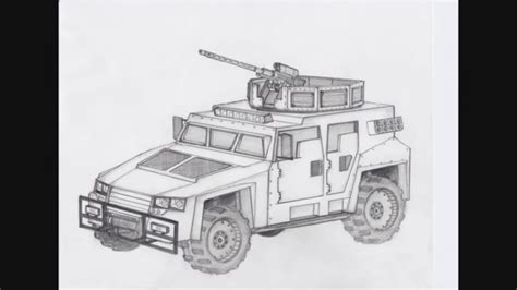 military hummer drawing how to draw a army truck pencil art drawing