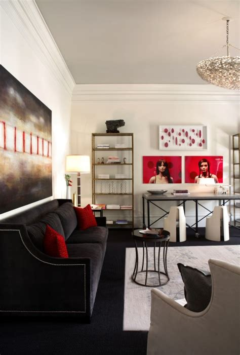 red and black room red and gray living rooms panda s house
