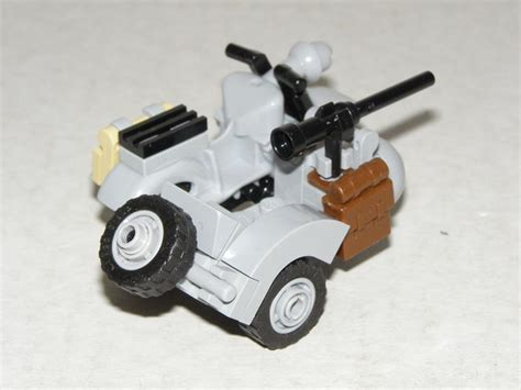 Lego Motorrad Mit Beiwagen by Wwii Moc Sidecar Special Lego Themes Eurobricks Forums