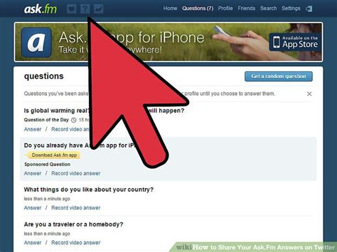 ask fm login mobile how to your ask fm answers on 5 steps