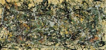 Jackson Pollock Essay by Number 8 1949 By Jackson Pollock
