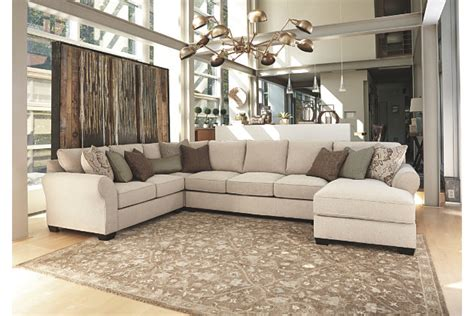 Discount Dining Room Sets wilcot 4 piece sofa sectional ashley furniture homestore