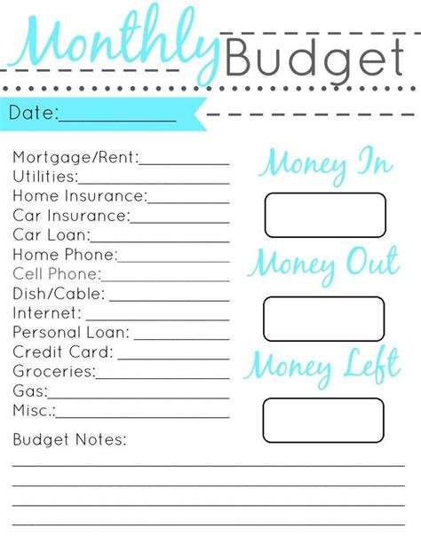 personal monthly budget budget planner free template free home finance spreadsheet budget planner monthly personal