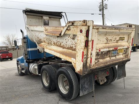 kenworth bed truck t600 rock bed dump truck dogface heavy equipment sales